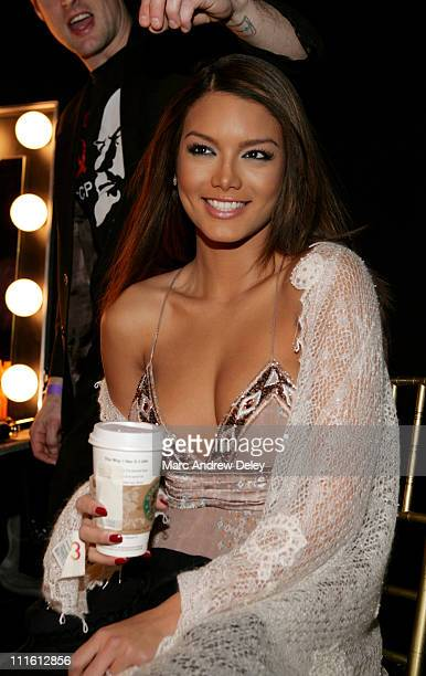 Zuleyka Rivera Miss Universe during 2007 MercedesBenz Fall Fashion Week Rolling with Style Gala Backstage at Cipriani 42nd Street in New York City...
