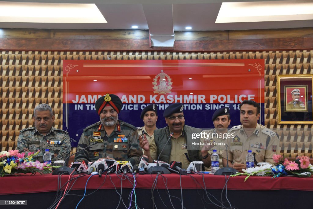 IND: J&K Police Arrested Pakistani Militant Waqar Ahmad