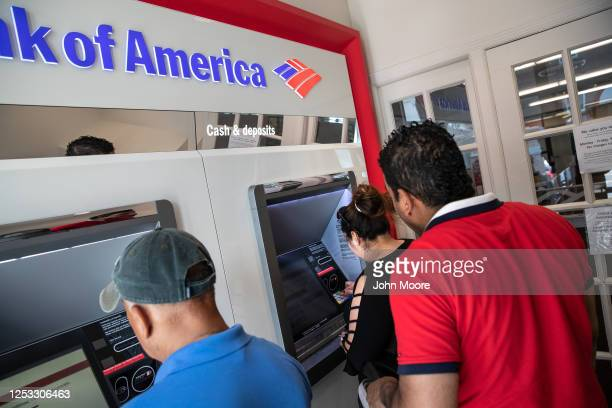 Zully makes her first ATM withdrawal with her husband Marvin on June 25 2020 in Stamford Connecticut She Marvin and their son Junior survived...