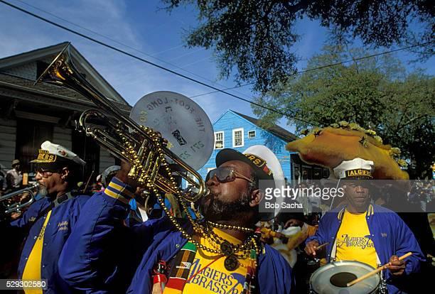 Zulu Crewe Performing in Mardi Gras Parade