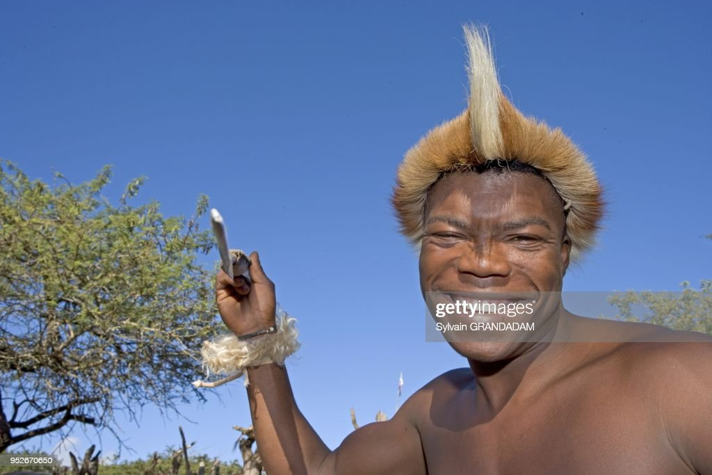 Zulu fighting with a spear  The Simunye zulu village where