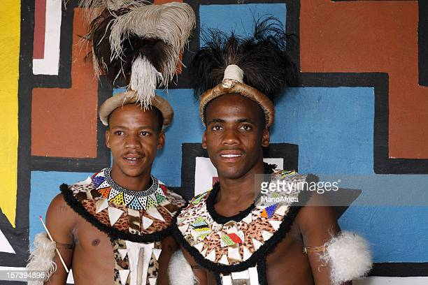 Zulu warriors in South Africa