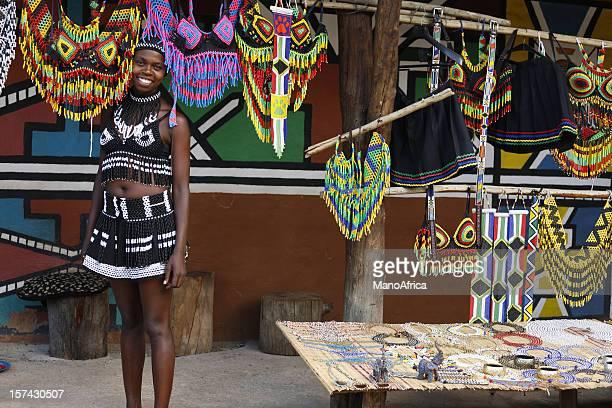 Zulu woman from South Africa