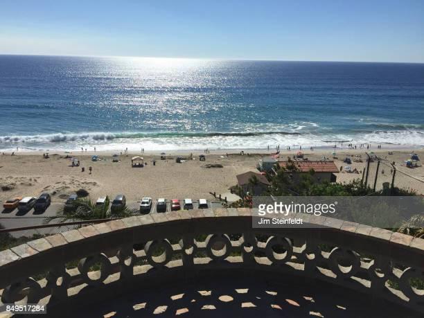 Zuma beach in Malibu California on October 11 2015