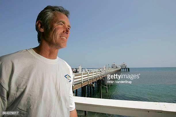 Zuma Jay Surf owner Jefferson 'Zuma Jay' Wagner on the Malibu Pier in Malibu on Monday August 6 2007