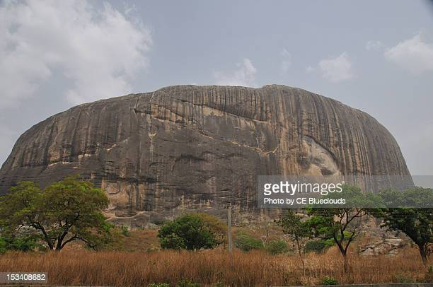 zuma rock - abuja stock photos and pictures