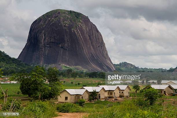 zuma rock - nigeria stock pictures, royalty-free photos & images