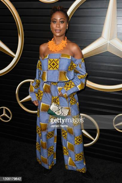 Zuri Adele attends the 2020 Mercedes-Benz Annual Academy Viewing Party at Four Seasons Los Angeles at Beverly Hills on February 09, 2020 in Los...