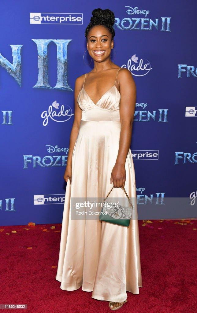 """Premiere Of Disney's """"Frozen 2"""" - Arrivals : News Photo"""