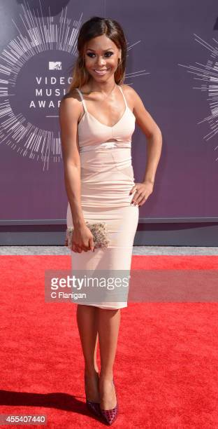 Zuri Hall arrives at the 2014 MTV Video Music Awards at The Forum on August 24 2014 in Inglewood California