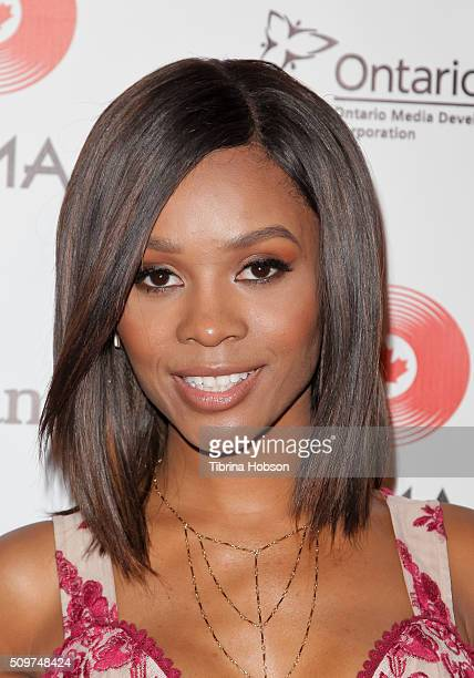 Zuri Hall attends Canada's Grammy Night at Raleigh Studios on February 11 2016 in Los Angeles California