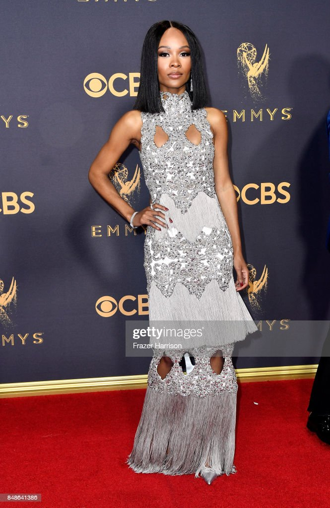 69th Annual Primetime Emmy Awards - Arrivals : Foto jornalística