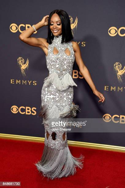 Zuri Hall attends the 69th Annual Primetime Emmy Awards at Microsoft Theater on September 17 2017 in Los Angeles California