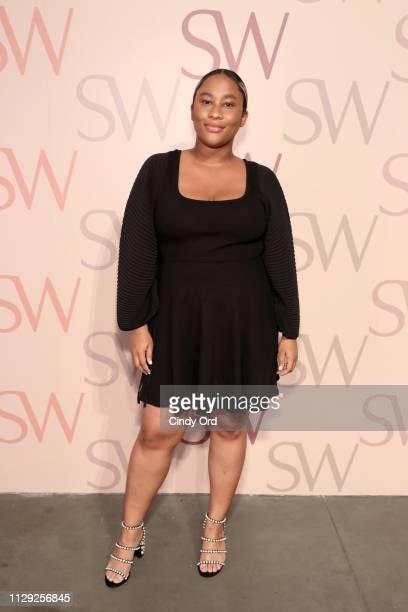 Zuri Marley attends Stuart Weitzman Spring Celebration 2019 on February 12 2019 in New York City