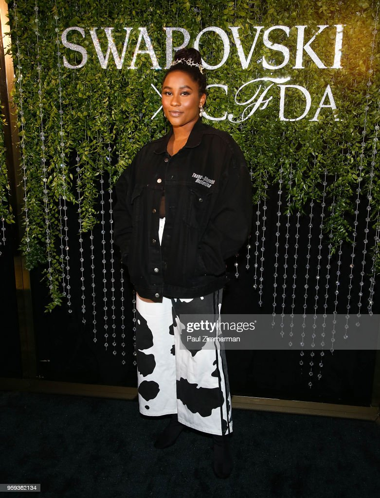 Zuri Marley attends the 2018 CFDA Fashion Awards' Swarovski Award For Emerging Talent Nominee Cocktail Party at DUMBO House on May 16, 2018 in New York City.