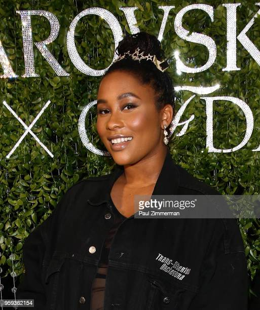 Zuri Marley attends the 2018 CFDA Fashion Awards' Swarovski Award For Emerging Talent Nominee Cocktail Party at DUMBO House on May 16 2018 in New...