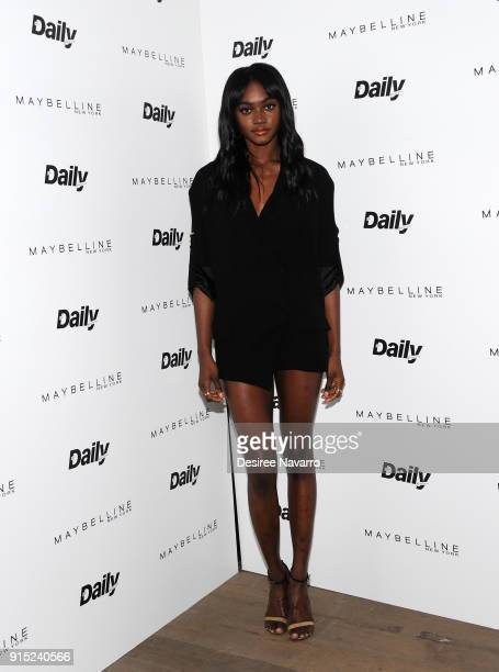 Zuri Tibby attends Daily Front Row's 15th Anniversary Celebration on February 6 2018 in New York City