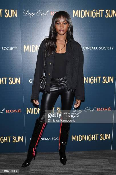 Zuri Tibby attends the screening of Midnight Sun at The Landmark at 57 West on March 22 2018 in New York City