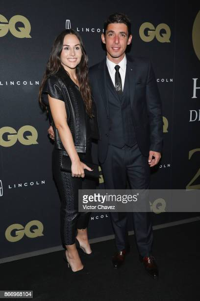 Zuria Vega and Alberto Guerra attend the GQ Mexico Men of The Year Awards 2017 on October 26 2017 in Mexico City Mexico