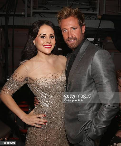Zuria Vega and Gabriel Soto at the 13th annual Latin GRAMMY Awards held at the Mandalay Bay Events Center on November 15 2012 in Las Vegas Nevada