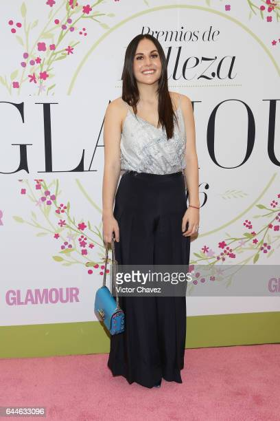 Zuria Vega attends the Glamour Mexico magazine Beauty Awards 2016 at Jardin Versal on February 23 2017 in Mexico City Mexico