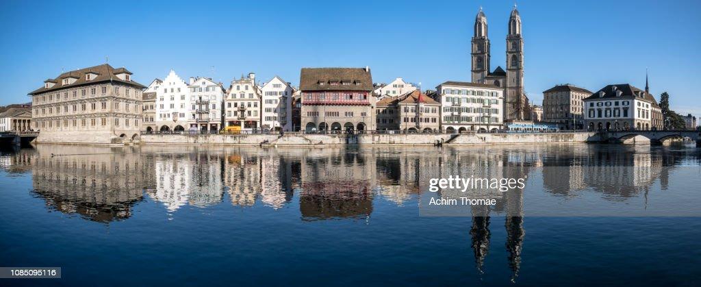 Zurich Cityscape, Switzerland, Europe : Stock Photo