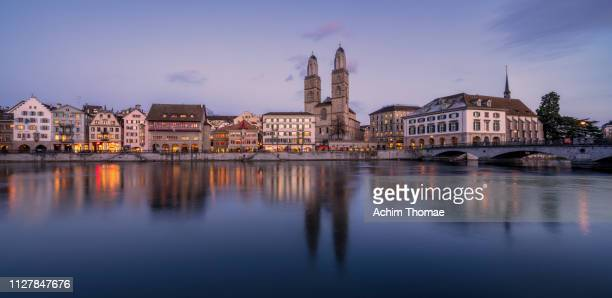 zurich cityscape, switzerland, europe - zurich stock pictures, royalty-free photos & images