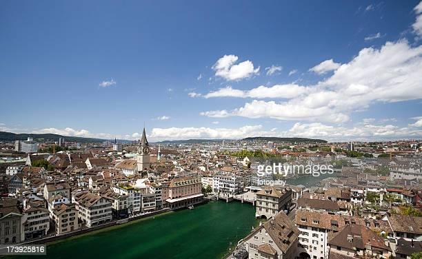Zurich cityscape ,Switzerland