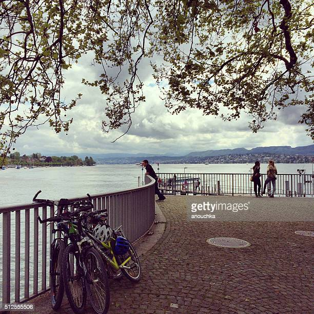 Skyline von Zürich, Schweiz