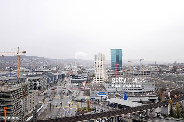 Moderne Landkreis Skyline von Zürich