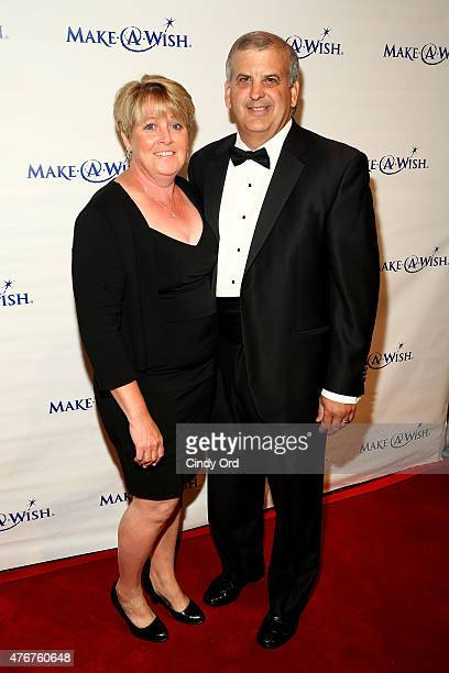Zurich Regional Executive East Region and CoChar of Advisory Board Ed Lopes and wife attend An Evening Of Wishes Annual Gala Benefiting MakeAWish...