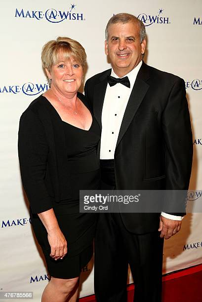 Zurich Regional Executive East Region and CoChar of Advisory Board Ed Lopes and guest attend An Evening Of Wishes Annual Gala Benefiting MakeAWish...