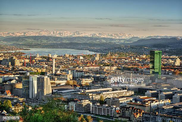 Zurich skyline, Switzerland