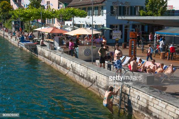 Zurich Switzerland at the youth culture house Dynamo Limmat