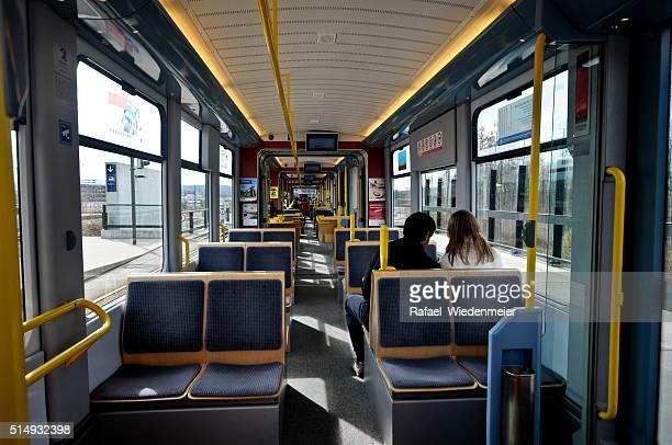 Die Straßenbahn in Zürich – Innenansicht