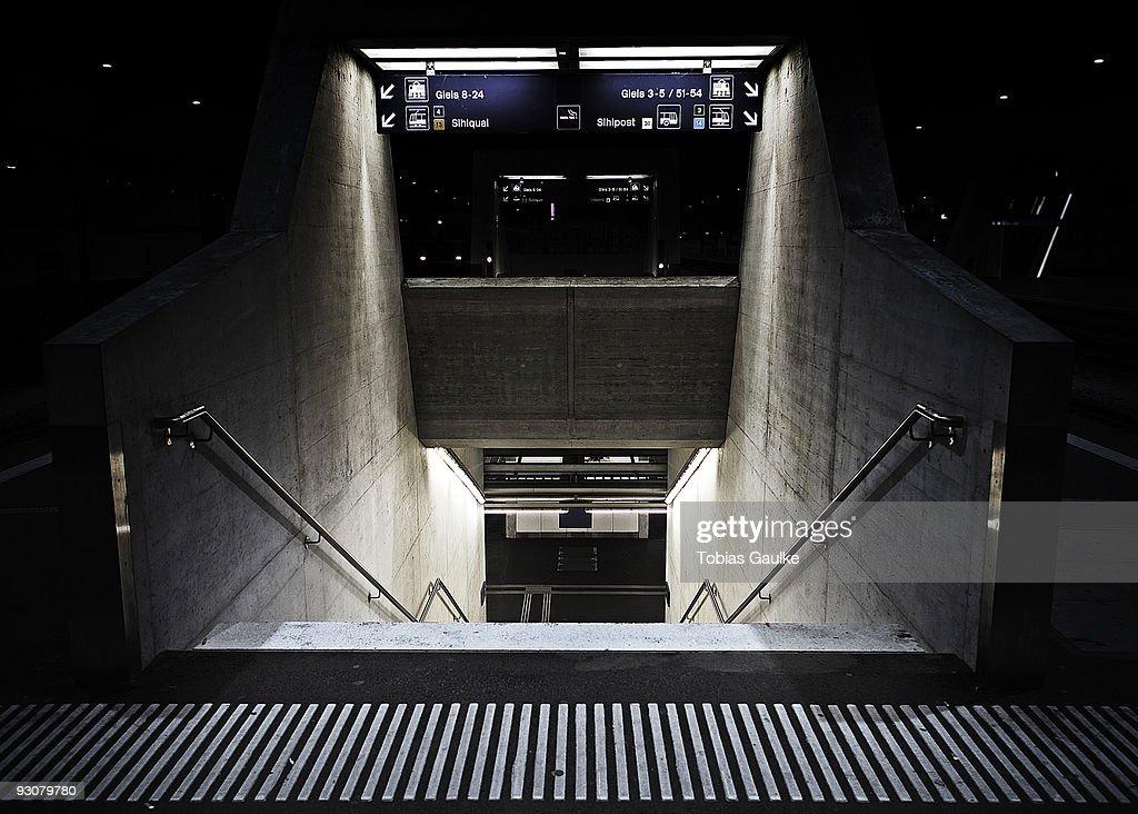 Zurich's mainstation : Stock-Foto