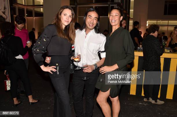 Zurima Kayton Howard Kuo and Denise Sullivan attend the Unveiling of White Square by Richard Meier Partners at Citigroup Center on December 7 2017 in...