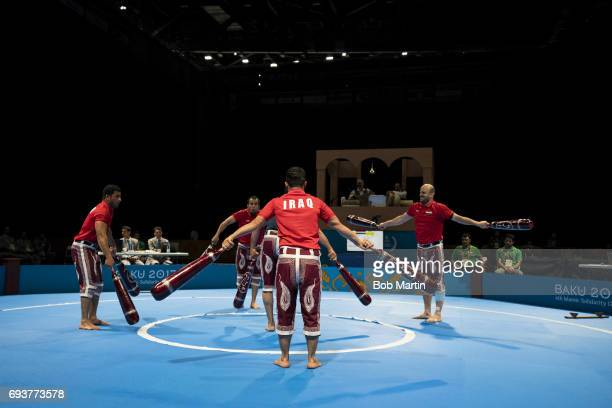 4th Islamic Solidarity Games Team Iraq in action during Men's Team Skills Group competition at Baku Crystal Hall 2 Baku Azerbaijan 5/20/2017 CREDIT...