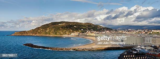 Zurriola Beach, San Sebastian, Basque Country