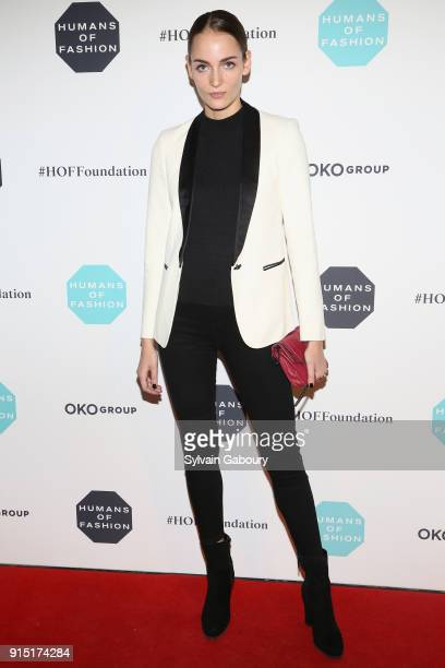 Zuzanna Bijoch attends Humans of Fashion Foundation joins the conversation to end sexual harassment and assault in the industry at Cipriani 25...