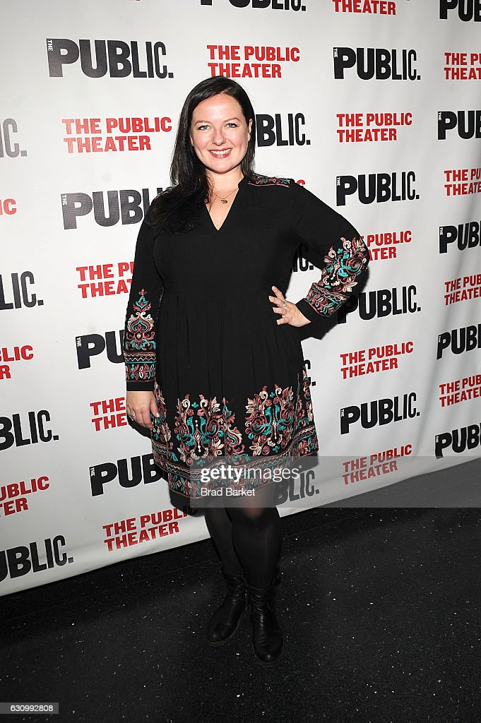 Zuzanna Szadkowsk attends the 13th Annual Under the Radar Festival 2017 Opening Night at The Public Theater on January 4, 2017 in New York City.