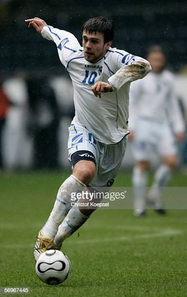 Zvejzdan Misimovic of Bosnia and Herzegovina runs with the ball during the international friendly match between Japan and Bosnia Herzegovina at the...