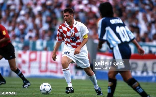 Zvonimir BOBAN - - Croatie / Argentine - Coupe du Monde 1998, Photo : Alain Gadoffre / Icon Sport