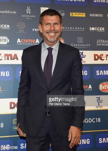 Zvonimir Boban attends the 'Oscar Del Calcio AIC' Italian Football Awards on December 3, 2018 in Milan, Italy.