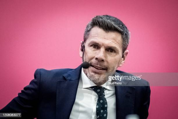 Zvonimir Boban attends the Second Edition Of 'The Festival Of Sport' In Trento'Il Festival dello Sport' in Trento, Italy, on 11 October 2019. From 10...