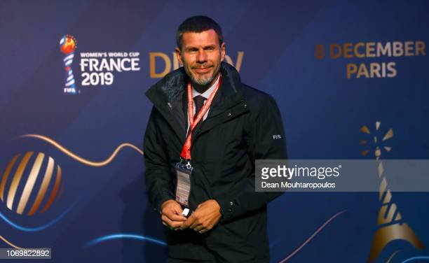 Zvonimir Boban, FIFA Deputy Secretary General arrives on the green carpet during the FIFA Women's World Cup France 2019 Draw at La Seine Musicale on...