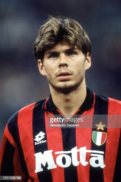 Zvonimir Boban of AC Milan looks on during the Serie A 1992-93, Italy.