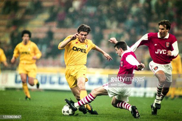 Zvonimir BOBAN of Milan during the European Super Cup match Milan and Arsenal, at San Siro Stadium, Milan, Italy on February 8th 1995
