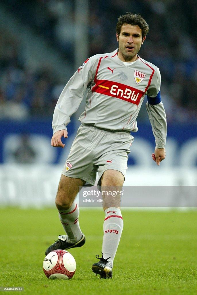 Zvonimir Soldo Fussballspieler Vfb Stuttgart Kroatien In