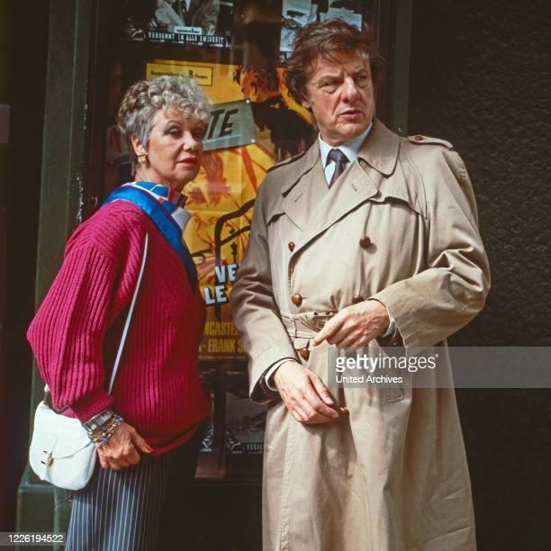 Zwei wie du und ich, Fernsehserie, Deutschland 1986, Darsteller: Maria Sebaldt, Herbert Boetticher